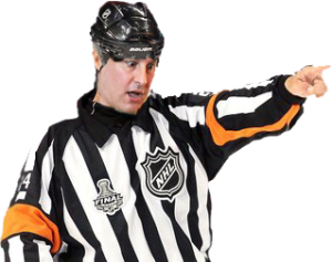 Duane Forrester Penalty Ref