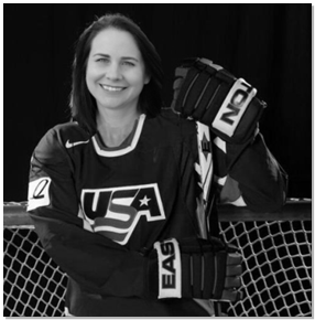 Vanessa Fox Hockey Player